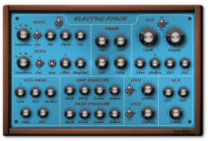 Yooz Electric Force VST/AU Sinth Audio Plugin for win and mac