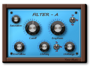 Yooz Filter VST/AU Plugin Win/Mac 64/32 bit